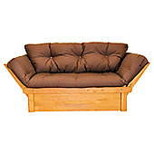 Kyoto Wooden Day Bed - Chocolate