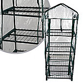 Kingfisher 4 Tier Mini Greenhouse