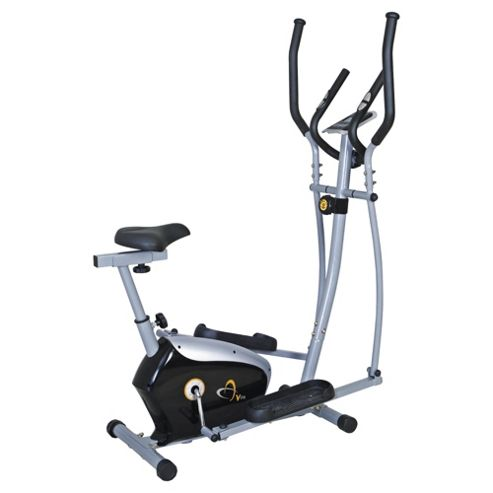 V-fit Magnetic 2-in-1 Cycle-Elliptical Cross Trainer