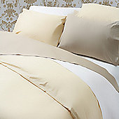 Belledorm Plain Dyed 200 Thread Count Fitted Sheet - Single - White