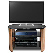 Stil-Stand Bow End TV Stand - Light Oak