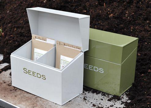 Calendar seed box