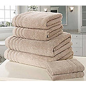 Zero Twist Bath Towel - Taupe