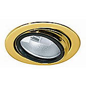 Paulmann Micro Line Furniture Downlight in Gold