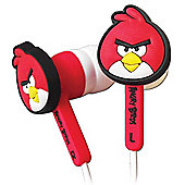Red Angry Bird Headphones
