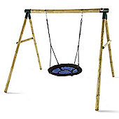 Plum Spider Monkey Swing Set