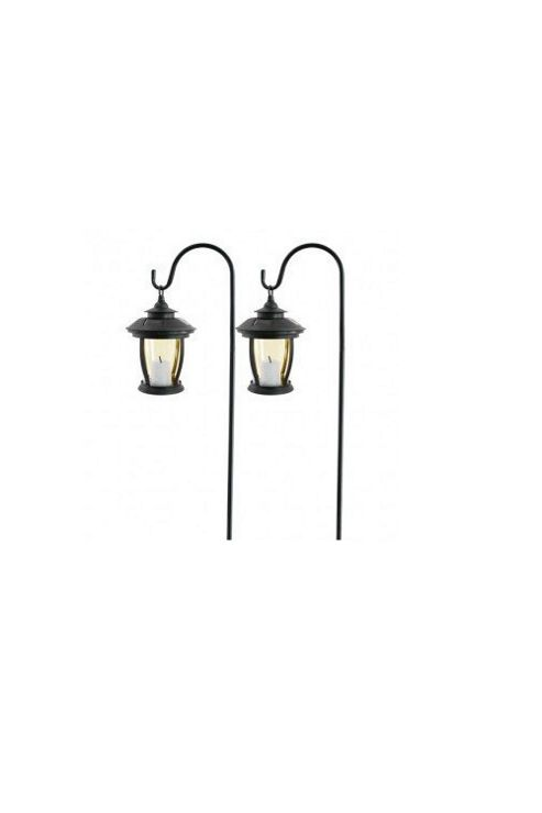 Paroh Solar Candle Swinging Lanterns Set (2 Pack)