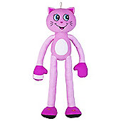 Stretchkins - Light Up Pink Cat