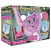 Stretchkins Light Up Pink Cat Sofy Toy