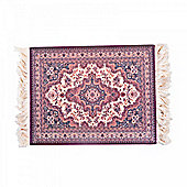 Authentic Look Flying Carpet Design Mousemat in Brown/Red
