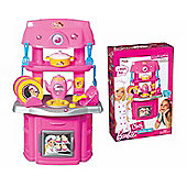 Barbie Chef 16 Piece Play Kitchen