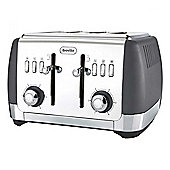 Breville VTT764 Strata 1650w 4 Slice Toaster in Grey