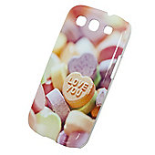"Tortoiseâ""¢ Hard Case Samsung Galaxy SIII Coloured Sweets Love You"