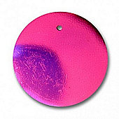 Round Flat Seq 25mm Cerise 2g