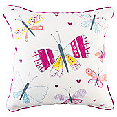 Tesco Kids Butterfly Cushion