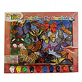 Kreative Kids Painting By Numbers Butterflies