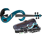 Rocket EVN Electric Violin Outfit - Metallic Blue