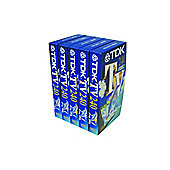 TDK 240 VHS Tapes 5-Pack