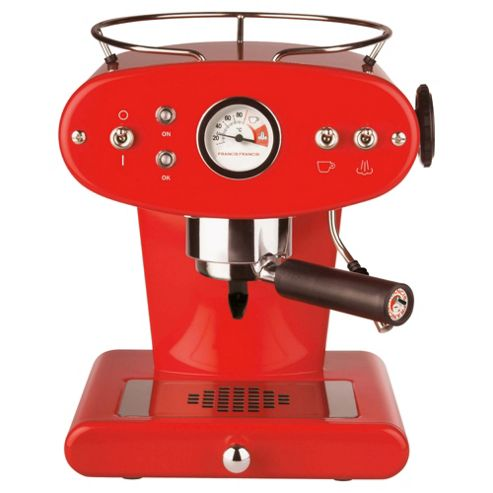 Francis Francis X1 Espresso Coffee Machine - Red