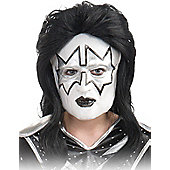 Adult The Spaceman Kiss Half Mask