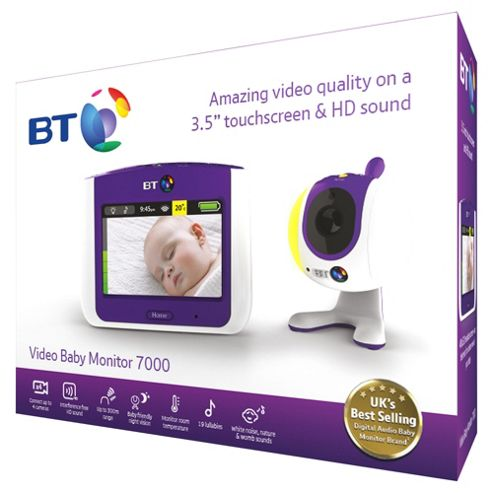 bt vbm7500 lightshow baby video monitor. Black Bedroom Furniture Sets. Home Design Ideas
