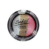 Nicka K Baked Terracotta Trio Eyeshadow-09 Sparkle Metal