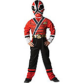 Power Rangers Red Samurai - Medium