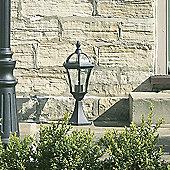 Endon Lighting One Light Lantern in Matt Black