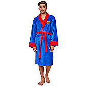 Superman Dressing Gown - Fleece