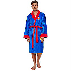 Superman Dressing Gown - Fleece