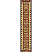 Mastercraft Rugs Noble Art Red Pazyryk Rug - 80cm x 160cm