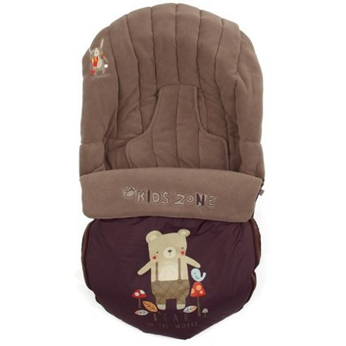 Jane Moom Car Seat Footmuff (Brown)