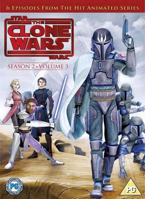 Star Wars - Clone Wars - Series 2 Vol 3 (DVD Boxset)