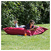 Giant Polyester Outdoor Floor Cushion (1.5x1.15m) - Red