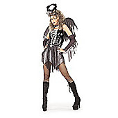 Rubies Fancy Dress Costume - Fallen Angel Adult Costume X-SMALL