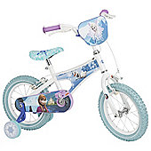 "Disney Frozen 14"" Kids' Bike with Stabilisers"