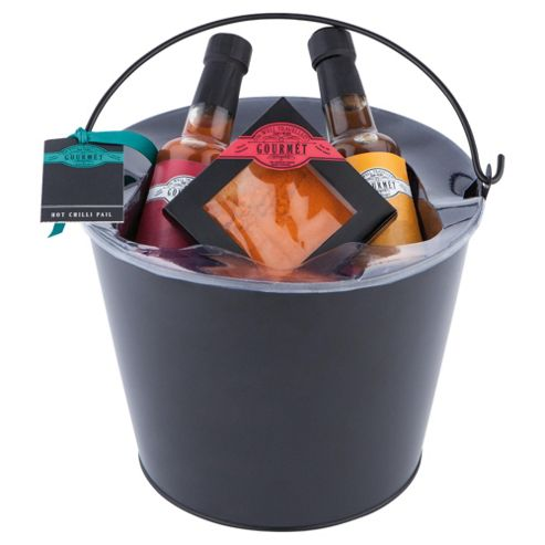 Gourmet Hot Sauce Bucket Set