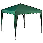 Tesco Polyethylene & Metal Waterproof Gazebo, Green