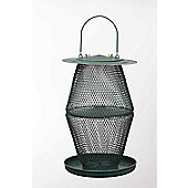 No/No Forest Green Two Tier Lantern Wild Bird Feeder