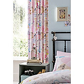 Catherine Lansfield Vintage Collage 66x72 Cotton Rich Curtains Fully Lined Curtains 168x183cm Multi