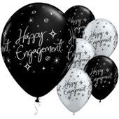 11` Engagement Elegant Sparkles (25pk)