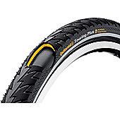 Continental Touring Plus Rigid Tyre in Black/Reflex - 28 x 1 1/2