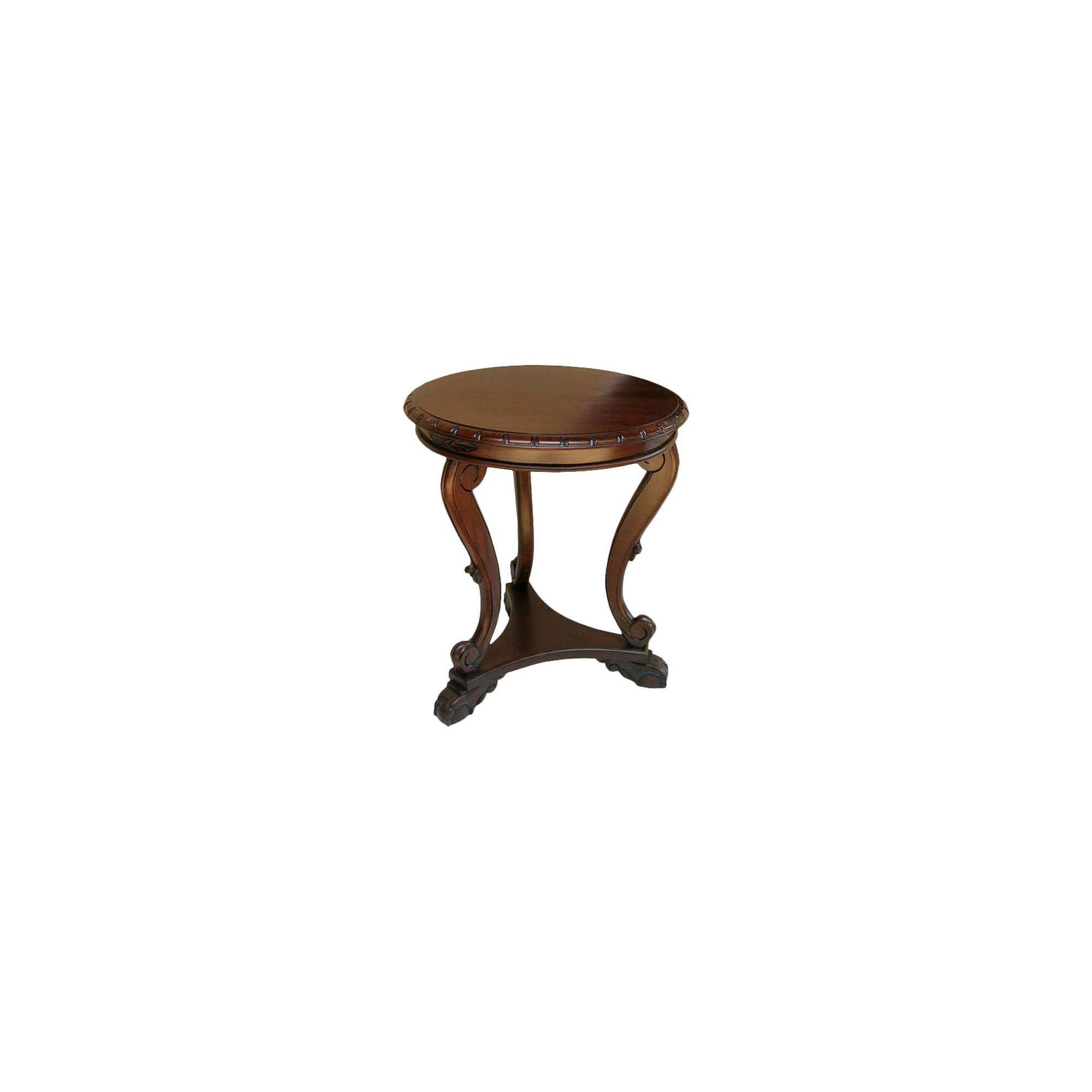 Lock stock and barrel Mahogany Regency Low Side Table in Mahogany at Tesco Direct