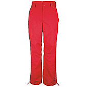 Algid Mens Snowproof Zipped Ankle Snowboarding Skiing Ski Trousers Pants - Red