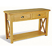 Ultimum Somerset Oak Console Table