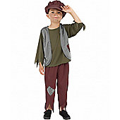 Victorian Poor Boy - Child Costume 7-9 years
