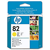 HP 82 printer Ink Cartridge - Yellow