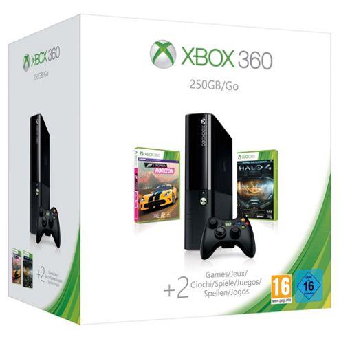 Xbox 360 250GB Console, Halo 4, and Forza Horizon