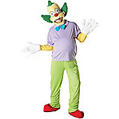 Krusty the Clown - Adult Costume Size: 42-46