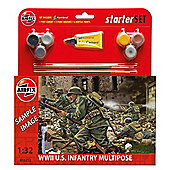 Airfix Multipose WWII US Infantry Figures (1:32)